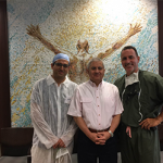 Dr. Alejandro Badia, World-Renowned Orthopedic Surgeon,  Meets with Ambassador Bustamante from Consulate of Peru in Miami